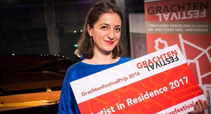 Sophiko Simsive wint GrachtenfestivalPrijs 2016