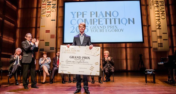 Winner of the YPF Piano Competition: Ramon van Engelenhoven