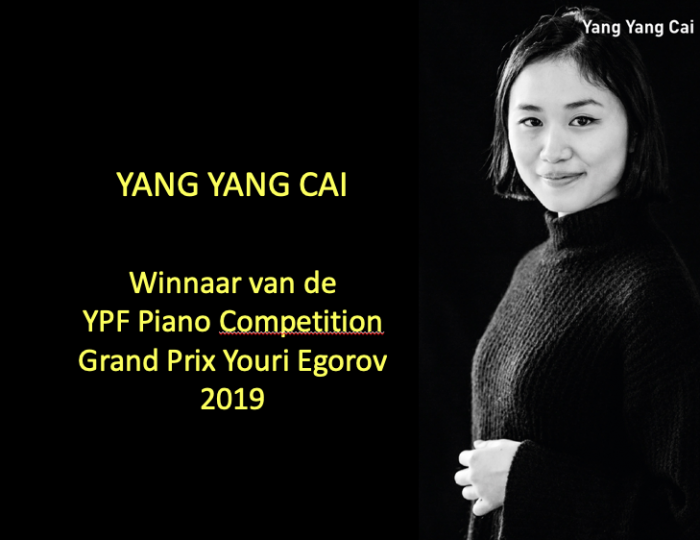 Winnaar van de YPF Piano Competition 2019!