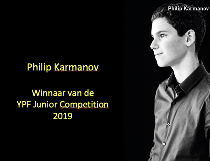 Winner of the YPF Junior Competition 2019